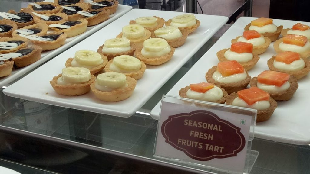 Pastry Counter at Onesta - An Italian Restaurant in Bangalore, India (Bengaluru)