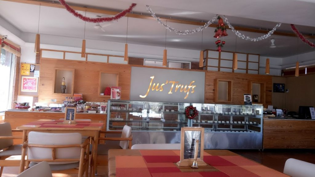 Jus' Trufs Cafe, Jakkur, North Bangalore