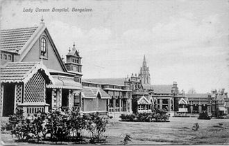 Lady Curzon hospital in the Bangalore Cantonment