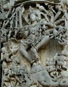 The Hoysala architecture is noted for its elaborate motifs.